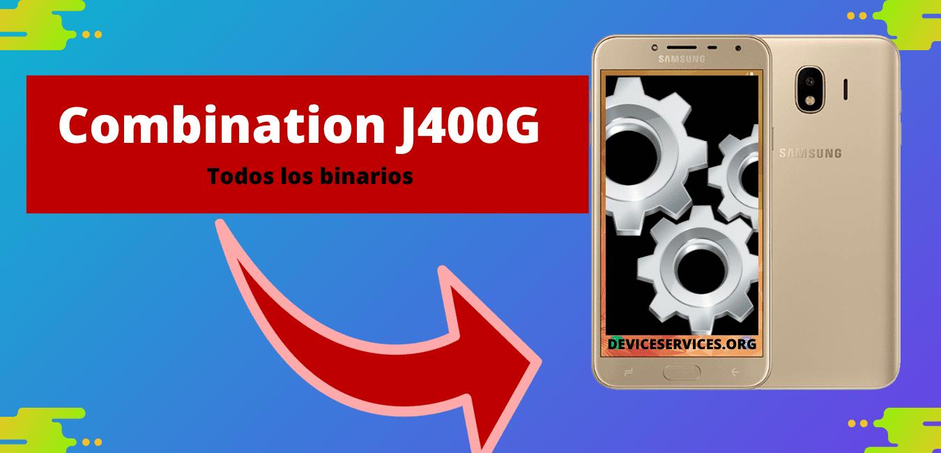 ROM FILE COMBINATION J400G U4